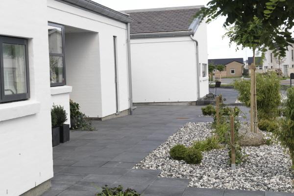 Trädgård Grus : Lägga marksten stensättning med betongsten och andra material