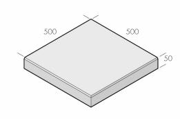 Klassikplattan 500x500x50